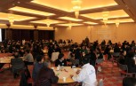 約140人が参加したワールドカフェ