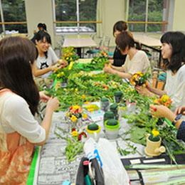 『願いよとどけ!七夕フラワーアレンジメント教室』プロジェクト