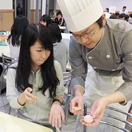 『和菓子作り体験』プロジェクト