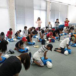 『救急法講習 in 安芸太田町』プロジェクト