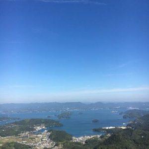 神峰山からの景色