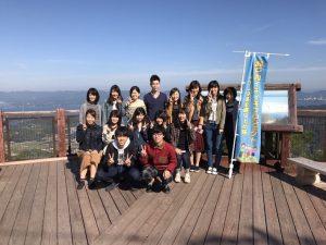 神峰山での集合写真