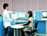 医療経営学科病院管理実習室室内の様子