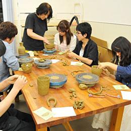 『陶芸教室』プロジェクト