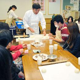 『夢カフェ 第一回 村上先生によるパン教室』プロジェクト
