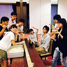 『学生寮の思い出作り~素麺大会~』プロジェクト